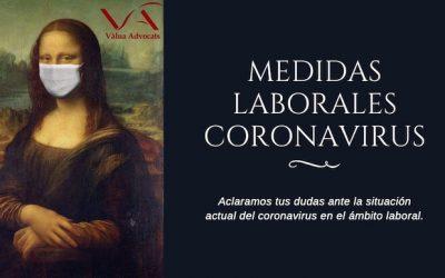 Medidas laborales coronavirus y RD 6/2020 de 10 de Marzo
